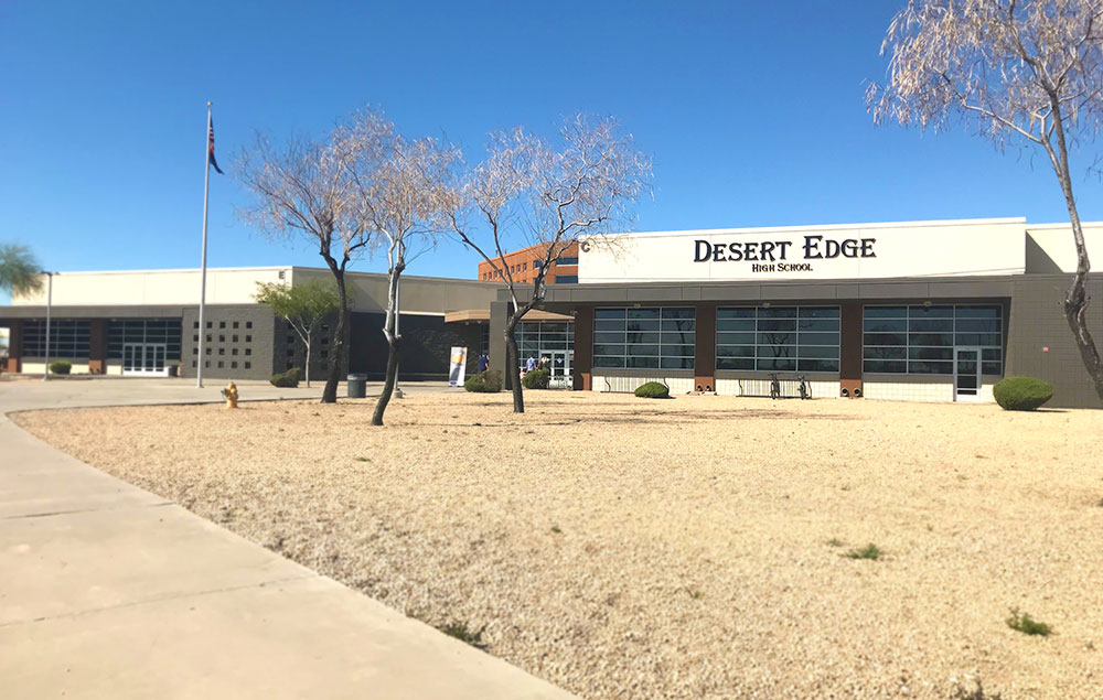 Crossings Church at Desert Edge High School in Goodyear